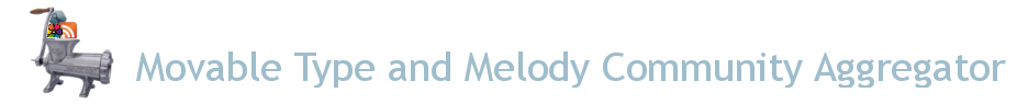 Movable Type and Melody Community Feed